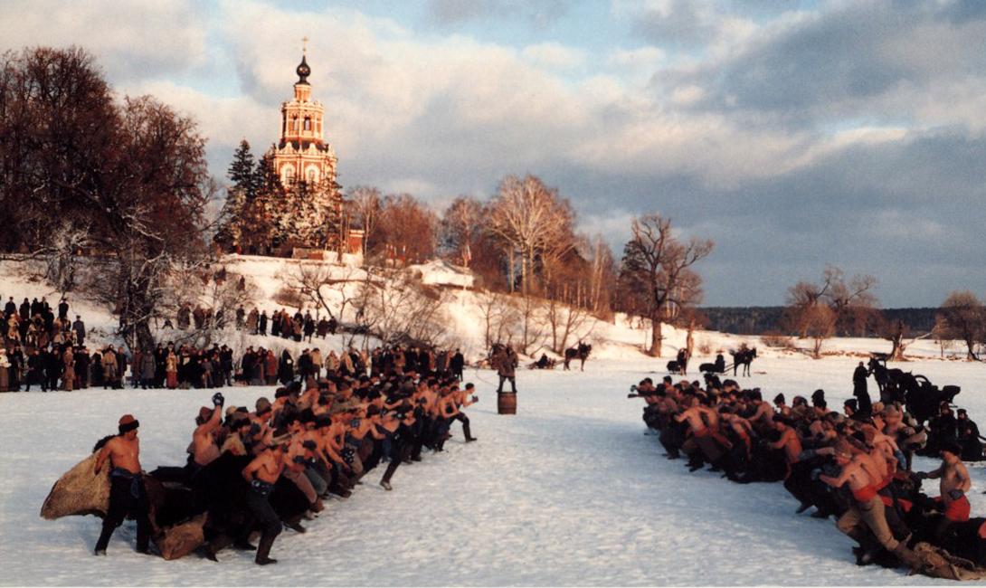 Кулачный бой - традиционная русская забава